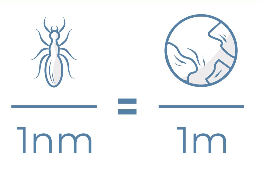 tamaño nanotecnologia